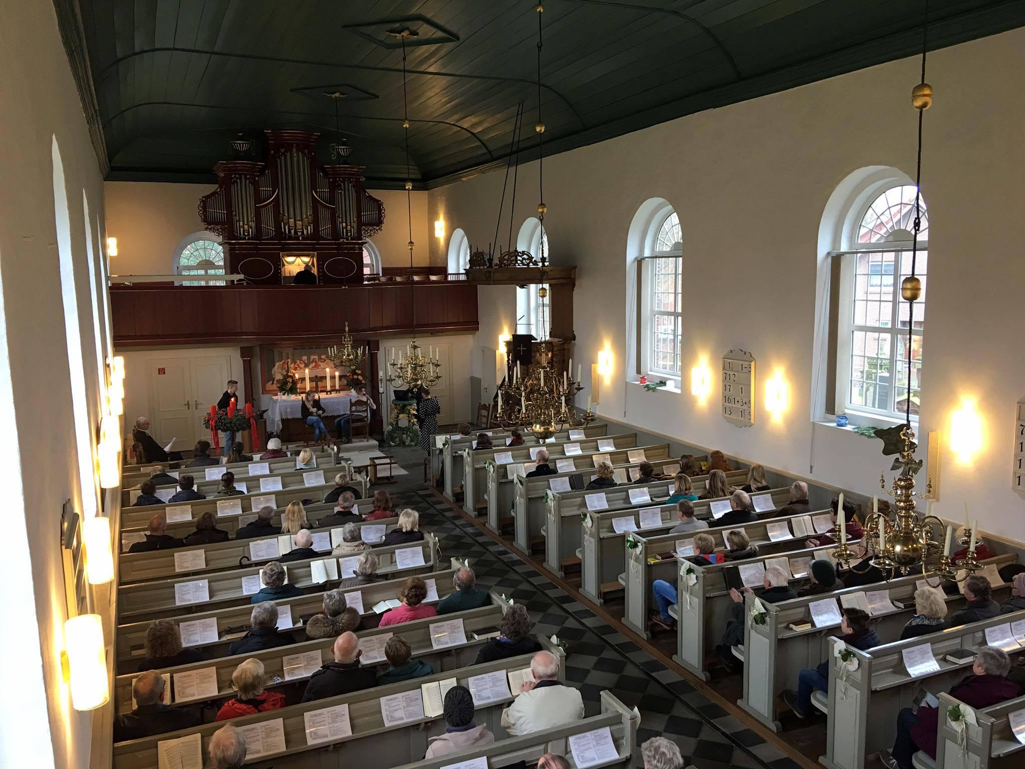 Gottesdienst zum 1. Advent und zum Auftakt des Adventsmarkts