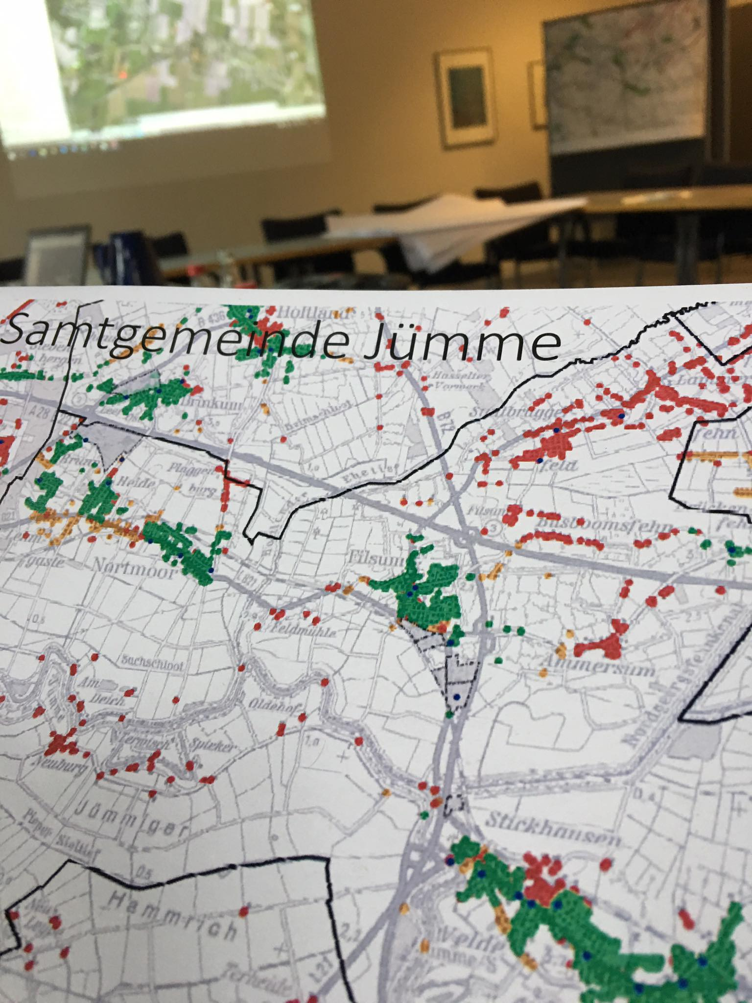 Breitbandversorgung in Jümme: Termin mit dem Landkreis Leer